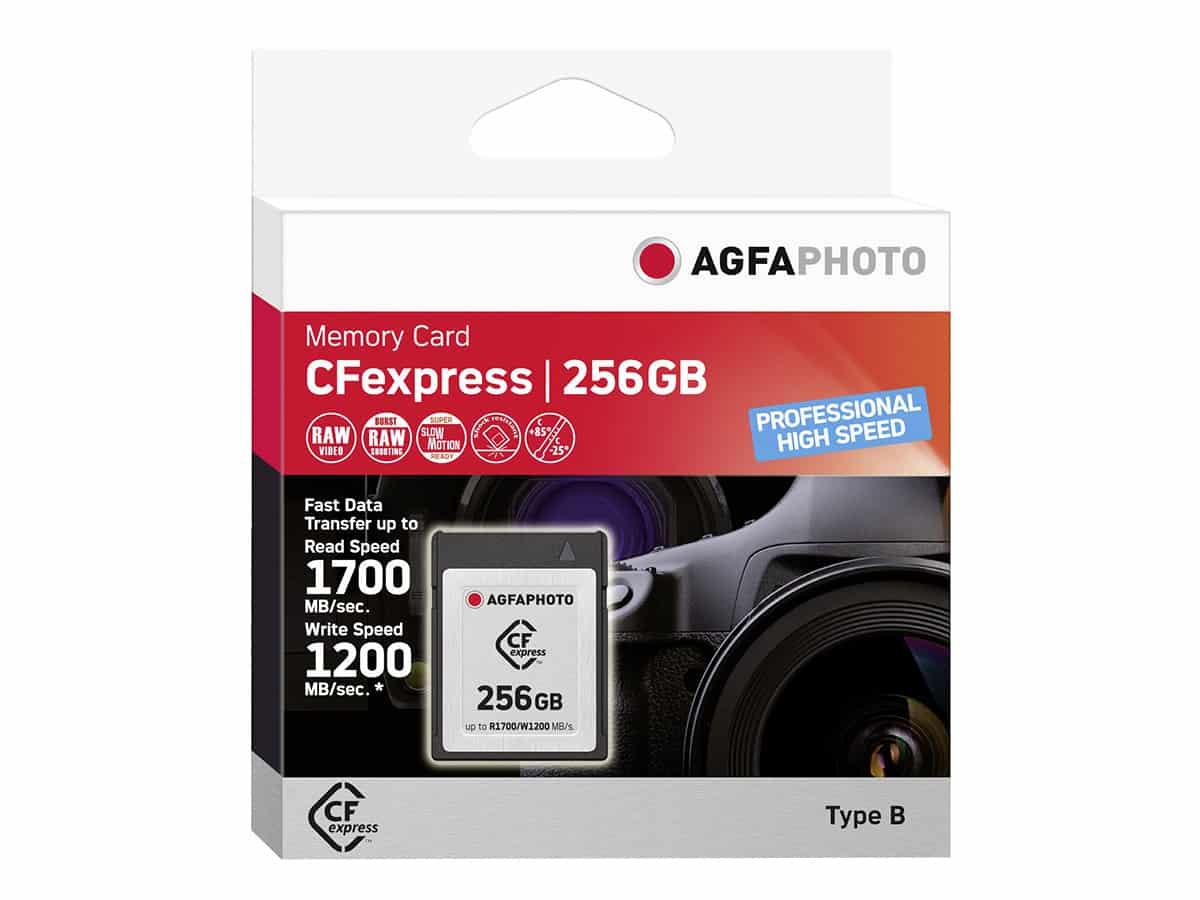 AgfaPhoto 256GB CFexpress, Type B (1700MB/s) - muistikortti